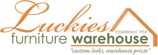 Luckies Furniture Warehouse Logo