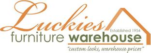 Lovely Luckies Furniture Warehouse Logo